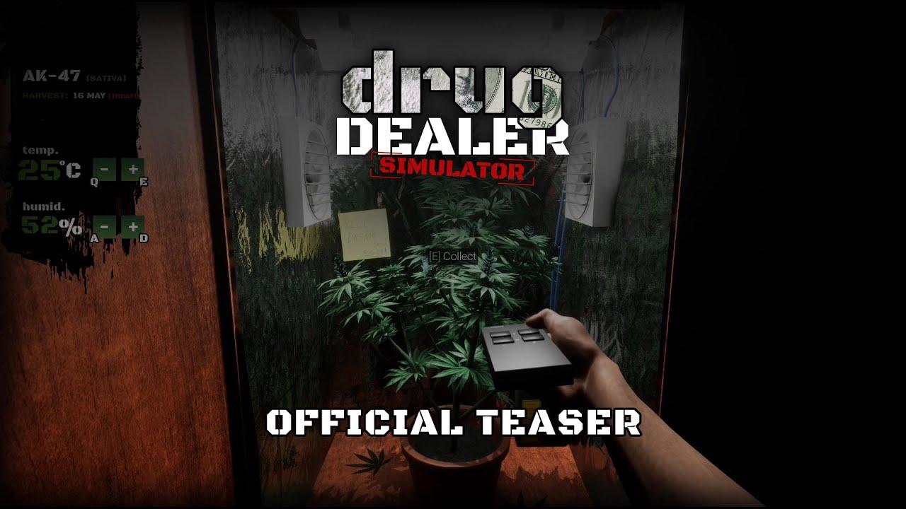 Симулируй это: анонс Drug Dealer Simulator