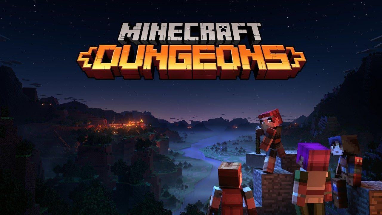 Основы кубического рогалика: геймплей Minecraft Dungeons.