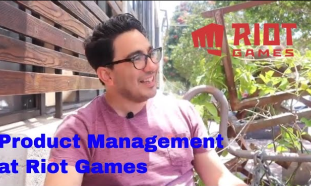 Product Management at Riot Games