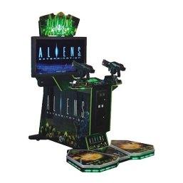 Alien Shooting Arcade Game