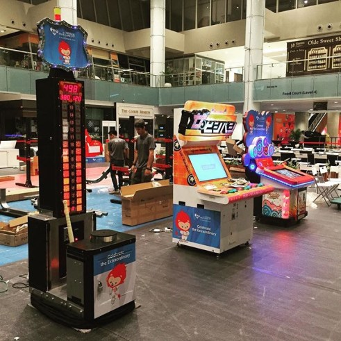 Arcade Machine Rental Singapore