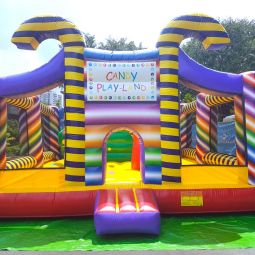 Singapore Candy Land Bouncy Castle