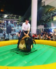 Rodeo Bull Inflatable Game