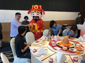 Cai Shen Ye Mascot Singapore
