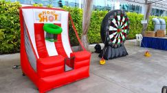 Inflatable Basketball Game Rental