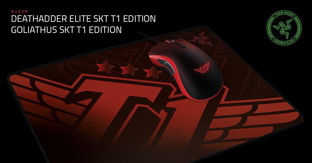Razer przedstawia mysz i podkładkę z motywem drużyny SKT T1