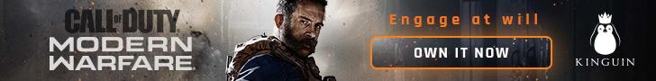 Kinguin Call of Duty Modern Warfare - 728x90