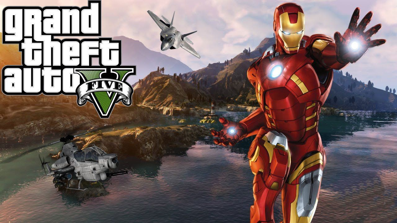 GTA V New Iron Man Mod V2 Is Available For Download Game