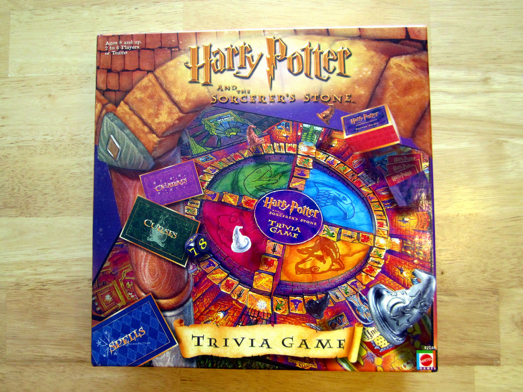 Harry Potter And The Sorcerer S Stone Trivia Game Game