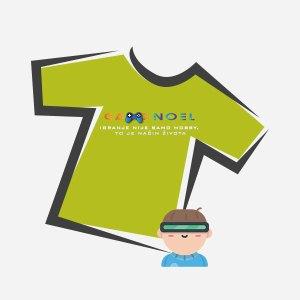 Dječje majice s GameNOEL logom
