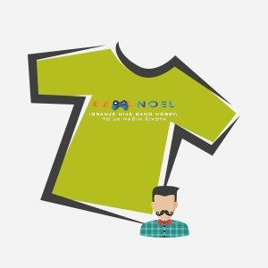 Muške majice s GameNOEL logom