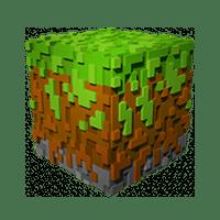 3D kocka iz Minecraft igre