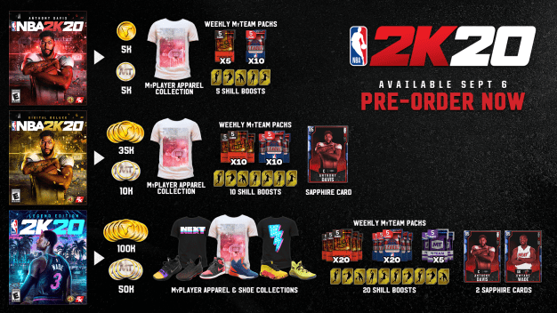Jump ahead early with some sweet pre-order bonuses