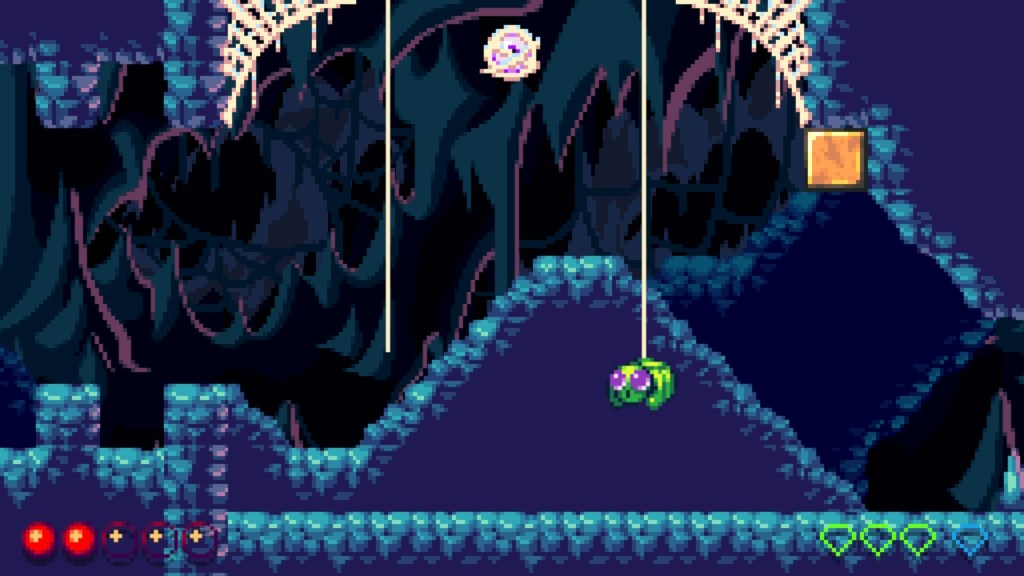 Spiders in a Cave