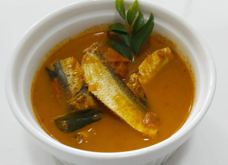 Omega3 rich sardine mango curry