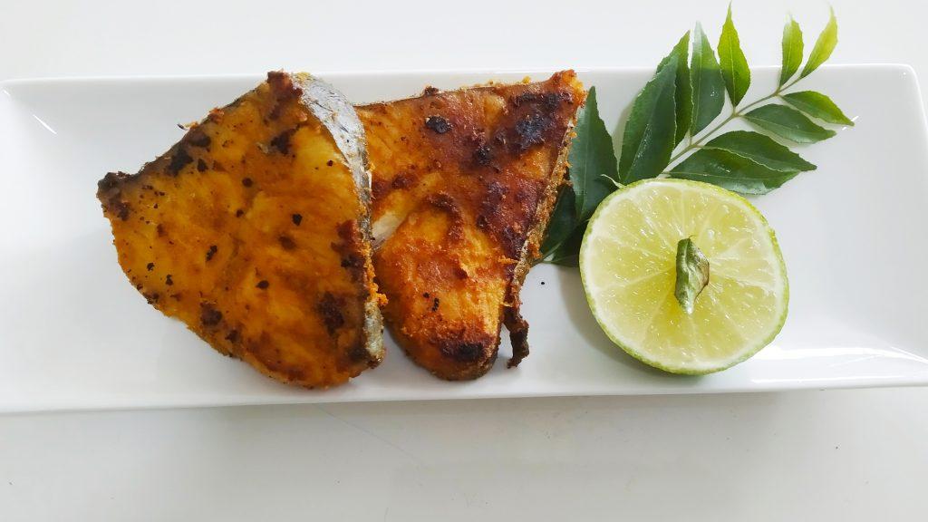 Simple pan fried fish