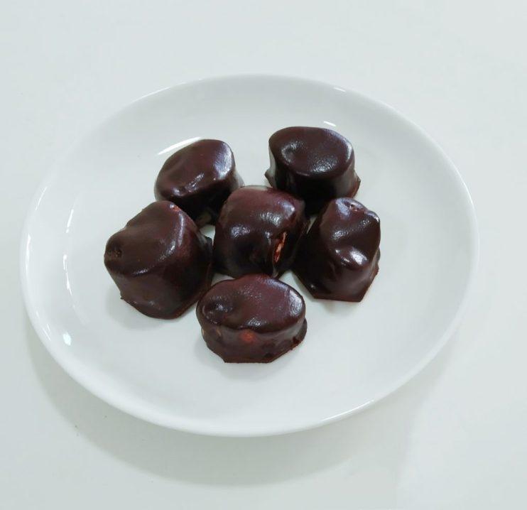 Homemade khoya chocolate