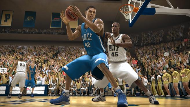 NCAA Basketball 2009 Video Game Game On Party