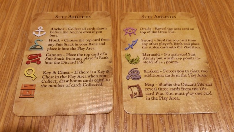 Good reference cards make the game easy to follow, even without the awesome playmat