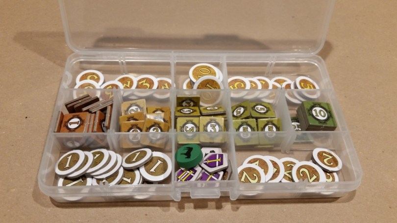 I'm not saying you *have* to organize your bits this way, but these bits need organization