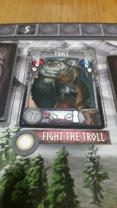 Defeat the Troll for Glory and lumber!...ignore the troll and everyone suffers