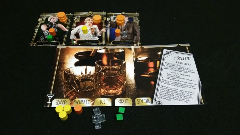 The Bartender - resource management with just a bit of dice-driven chaos