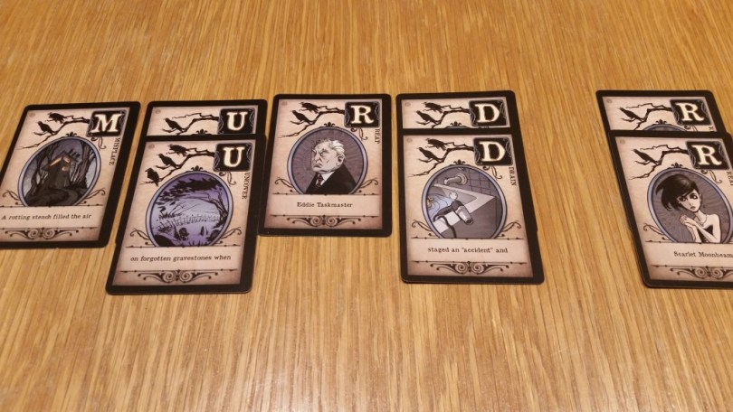 By playing multiple cards of the same letter, you can insulate yourself from some card effects.