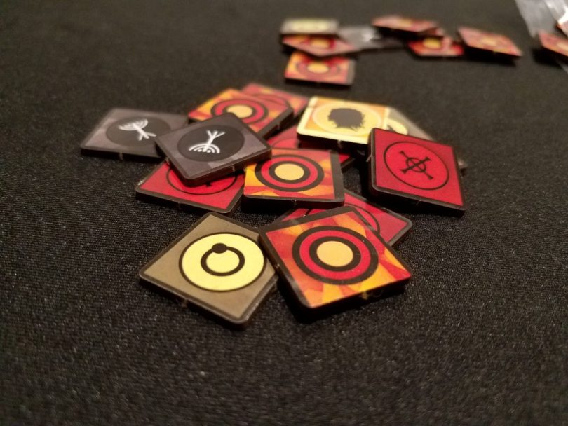 My omen tokens, provided by Todd Sanders.