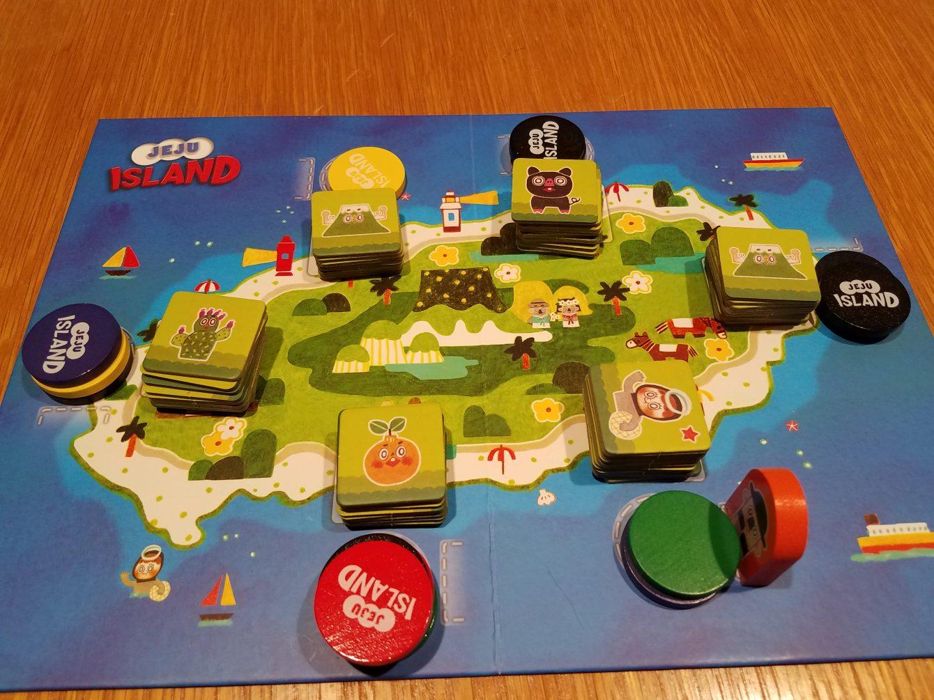 Case Blue Board Game : Jeju island review gameosity
