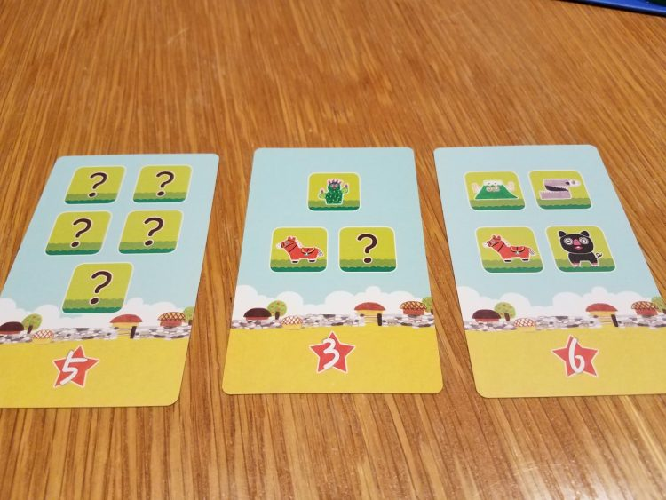 Some vanilla point cards. You can pick them up with the right combination of tiles.
