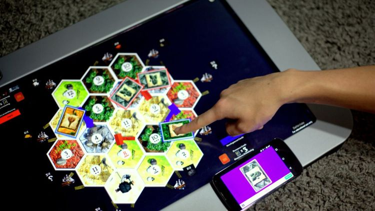 Playtable The Future Of Board Games Gameosity - Digital board game table