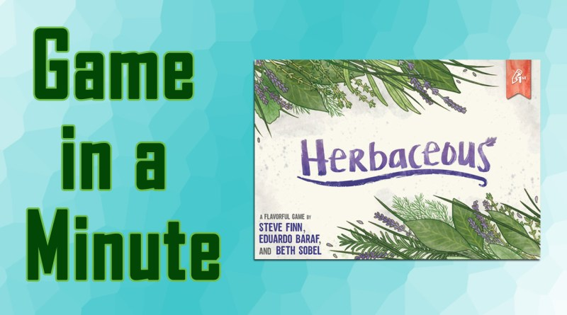 herbaceous game in a minute