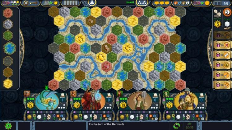 terra mystica app board