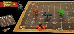 Rayguns & Rocketships board