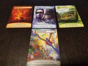 karmaka board game cards