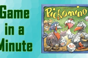 Game in a Minute Pikomino
