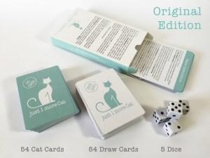 Just 1 More Cat Card Game