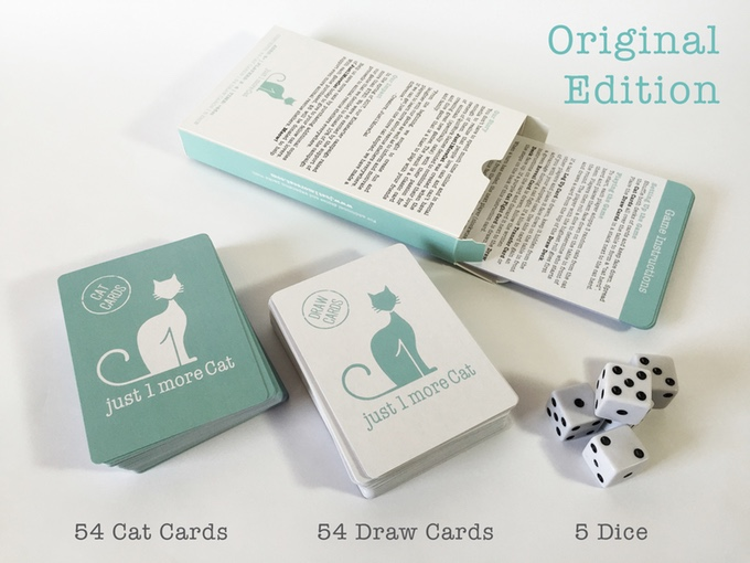 Just 1 More Cat Card Game
