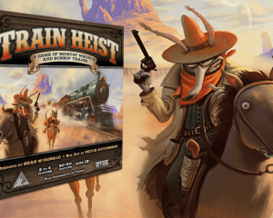 Cryptozoic Train Heist