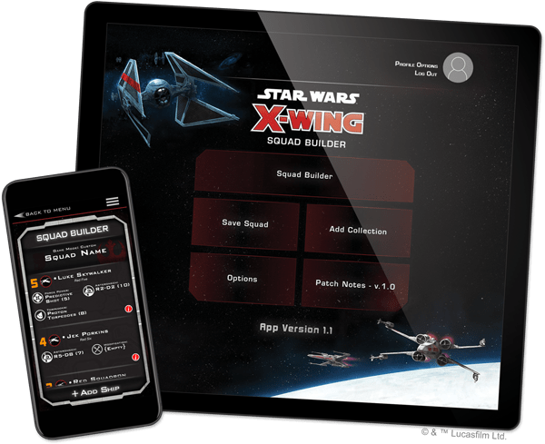 x wing second edition force