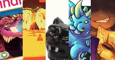 Jess's Fave Five Kickstarters of the Week 2/21/20