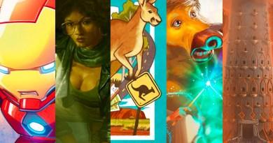 Jess's Fave Five Kickstarters of the Week 2/14/20