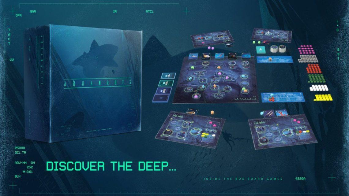 Aquanauts Kickstarter Banner