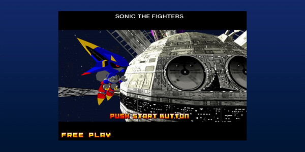 Sonic The Fighters 3