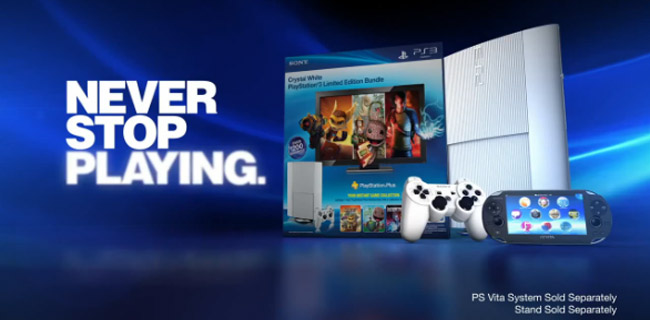 PlayStation 3 Super Slim Classic White