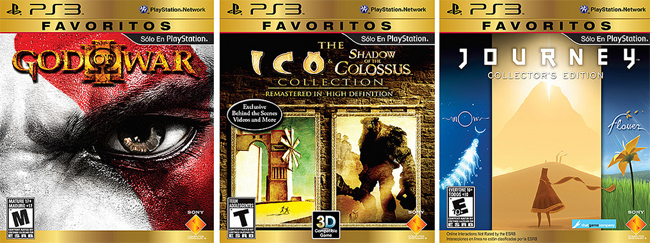 PlayStationFavoritos
