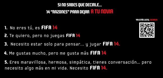 FIFA 14 campaña 14 razones 1