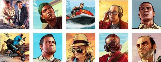 GTA V avatares
