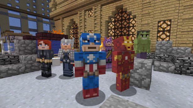 The Avengers Skin Pack 1
