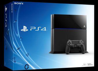 PS4 caja